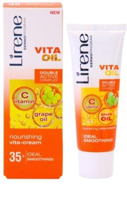 Lirene Vita Oil 35+ nährende und glättende Creme 1