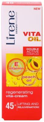 Lirene Vita Oil 45+ regenerierende Creme mit Lifting-Effekt 2