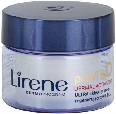 Lirene ProVita D Dermal Activator crema de noche activa nutritiva