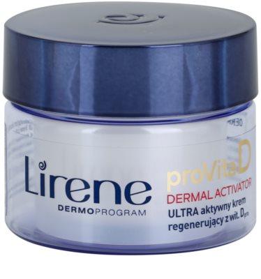 Lirene ProVita D Dermal Activator crema hidratanta de noapte