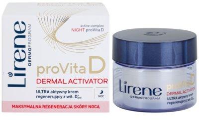 Lirene ProVita D Dermal Activator nočna aktivna hranilna krema 1