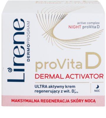 Lirene ProVita D Dermal Activator éjszakai aktív tápláló krém 2