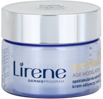Lirene ProVita D Age Modelator crema hranitoare pentru intinerirea pielii