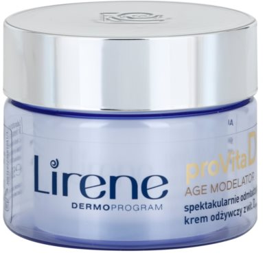 Lirene ProVita D Age Modelator crema nutritiva  rejuvenecedor de la piel