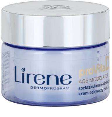 Lirene ProVita D Age Modelator nährende Creme zur Verjüngung der Haut
