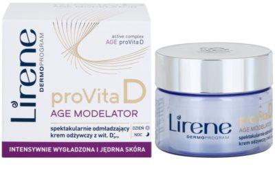 Lirene ProVita D Age Modelator nährende Creme zur Verjüngung der Haut 1