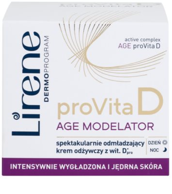 Lirene ProVita D Age Modelator nährende Creme zur Verjüngung der Haut 2