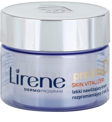 Lirene ProVita D Skin Vitalizer könnyű hidratáló krém SPF 10
