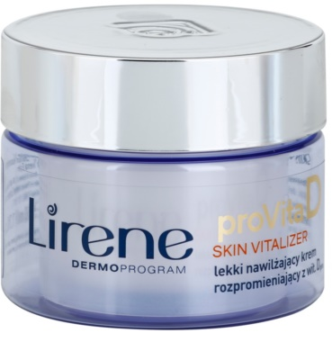 Lirene ProVita D Skin Vitalizer leichte feuchtigkeitsspendende Creme SPF 10