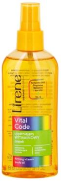Lirene Vital Code aceite vitamínico reafirmante para el cuerpo