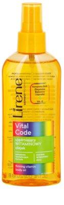 Lirene Vital Code feszesítő vitaminos olaj testre