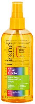 Lirene Vital Code spevňujúci vitamínový olej na telo