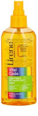 Lirene Vital Code zpevňující vitanínový olej na tělo 1