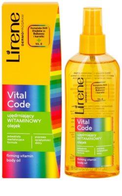 Lirene Vital Code zpevňující vitanínový olej na tělo 2
