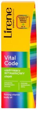 Lirene Vital Code zpevňující vitanínový olej na tělo 3