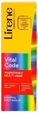 Lirene Vital Code vyhlazující olej na tělo 3