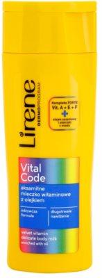 Lirene Vital Code делікатне вітамінне молочко для тіла з олією