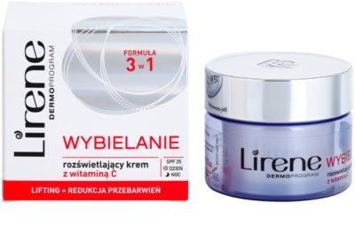 Lirene Whitening rozjaśniające serum liftingujące przeciw przebarwieniom skóry 1