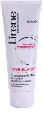 Lirene Whitening cuidado de limpeza para manchas de pigmentação