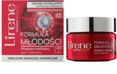 Lirene Youthful Formula 45+ crema de zi pentru lifting cu efect de hidratare 1