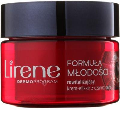 Lirene Youthful Formula 45+ crema de noche revitalizadora antiarrugas