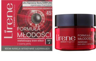 Lirene Youthful Formula 45+ noční revitalizační krém proti vráskám 1