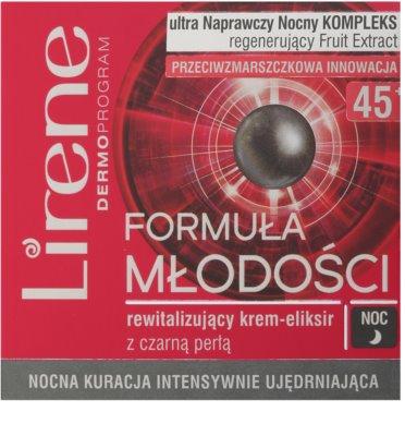 Lirene Youthful Formula 45+ noční revitalizační krém proti vráskám 2