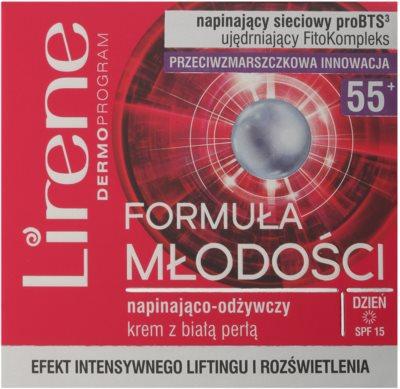 Lirene Youthful Formula 55+ crema pentru crapaturi cu efect de nutritiv 2