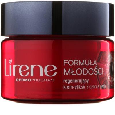 Lirene Youthful Formula 55+ regenerierende Anti-Falten Creme für die Nacht