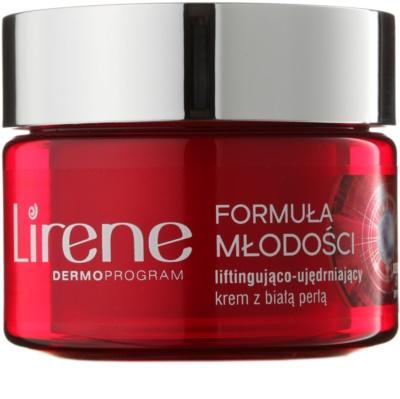 Lirene Youthful Formula 65+ crema de día antiarrugas reafirmante con efecto lifting