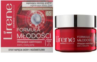 Lirene Youthful Formula 65+ crema de día antiarrugas reafirmante con efecto lifting 1