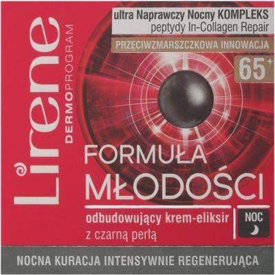 Lirene Youthful Formula 65+ nočný intenzívny regeneračný krém 2