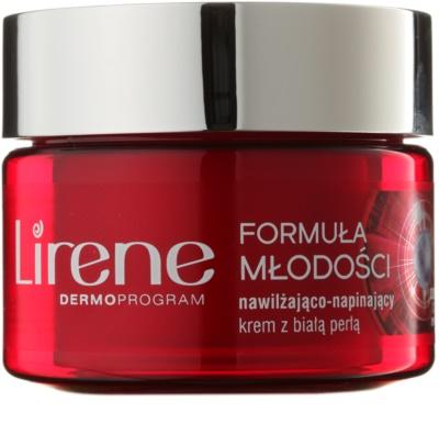 Lirene Youthful Formula 35+ crema de zi pentru contur  cu efect de hidratare