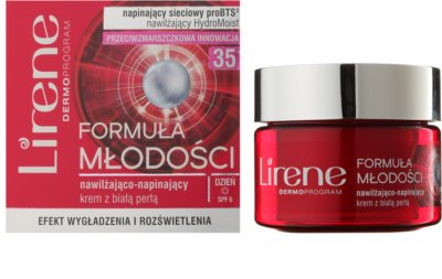Lirene Youthful Formula 35+ crema de zi pentru contur  cu efect de hidratare 1