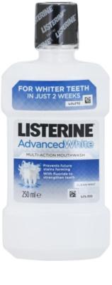 Listerine Advanced White Mundwasser mit bleichender Wirkung