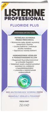 Listerine Professional Fluoride Plus ustna voda proti kariesu 2