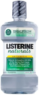 Listerine Naturals Herbal Mint antisséptico bucal