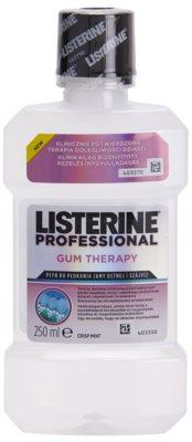 Listerine Professional Gum Therapy enjuague bucal para encías sangrantes y con efecto antiinflamatorio