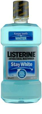 Listerine Stay White enjuague bucal con efecto blanqueador 1