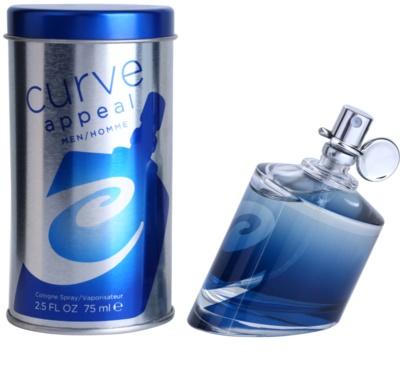 Liz Claiborne Curve Appeal for Men toaletna voda za moške