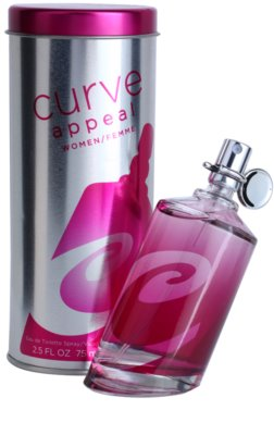 Liz Claiborne Curve Appeal for Women Eau de Toilette für Damen 1