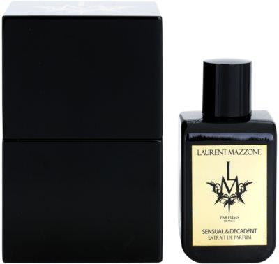 LM Parfums Sensual & Decadent extrato de perfume unissexo