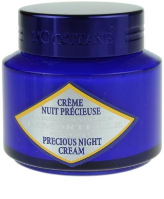 L'Occitane Immortelle crema de noapte pentru contur