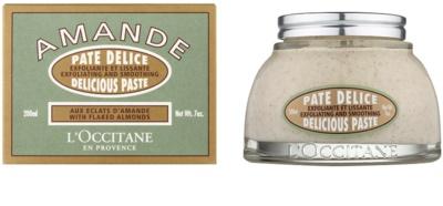 L'Occitane Amande exfoliant corp cu ulei de migdale 1