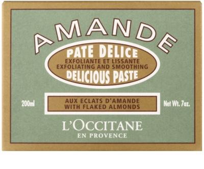 L'Occitane Amande exfoliant corp cu ulei de migdale 2