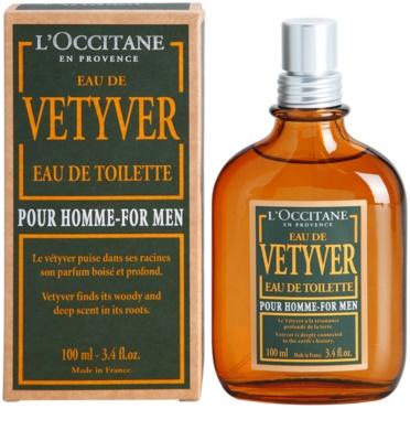 L'Occitane Eau de Vetyver pour homme eau de toilette férfiaknak