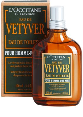 L'Occitane Eau de Vetyver pour homme eau de toilette para hombre 1