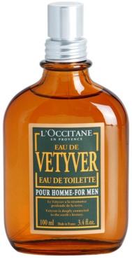L'Occitane Eau de Vetyver pour homme eau de toilette para hombre 2