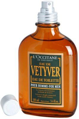 L'Occitane Eau de Vetyver pour homme eau de toilette para hombre 3