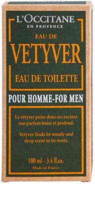 L'Occitane Eau de Vetyver pour homme eau de toilette para hombre 4